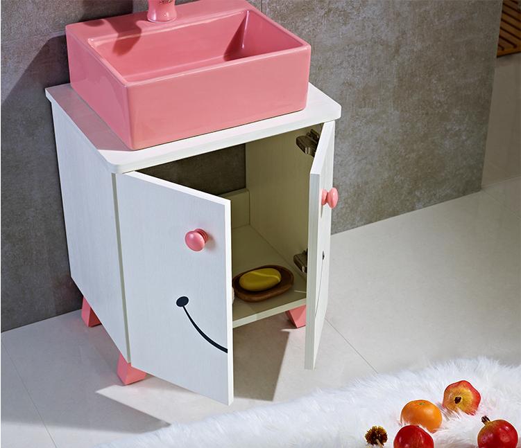 lavabo tủ cho trẻ em gỗ 17011-1