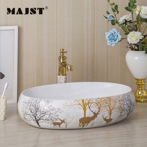 lavabo sứ nghệ thuật